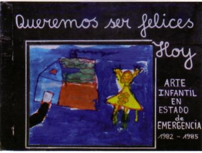 Santiago del Cile, il dolore dei bambini. Dal depliant-guida del museo della memoria