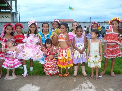 castanhal par brasile. festa di bambini al km7. foto di rosilane caproni 2010