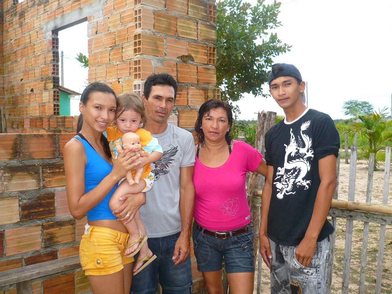 Famiglia del Kilometro 7 (Castanhal, Parà, Brasile)