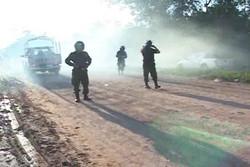 Repressione della Marcia Indigena a Yucumo, foto di Jolanda Herrera (APDHB), Bolivia, 2011