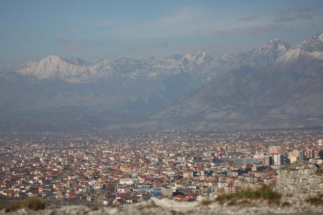 Panorama di Scutari, Albania, Foto di Angelo Carlo Valsesia, CB Oltre le vendette