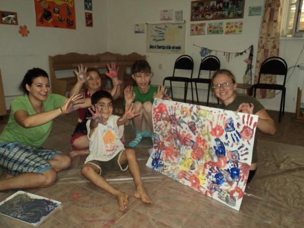 Caschi Bianchi nelle attività con i bambini, CB Apg23, Russia, 2012