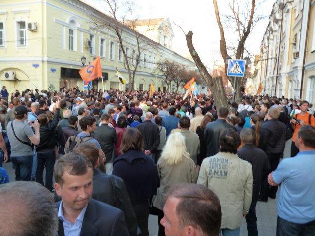 Manifestazioni contro Putin, foto di Giulia Trevisan e Martin Moellenkamp, Russia, 2012