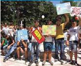 Manifestazione contro la gjakmarrja