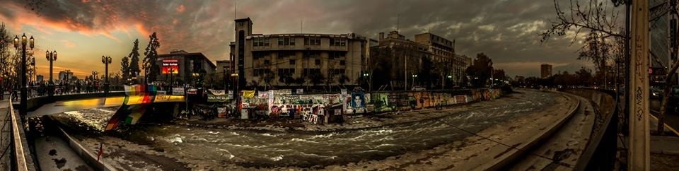 Foto di Michele Casalboni, CB Apg23 a Santiago del Cile