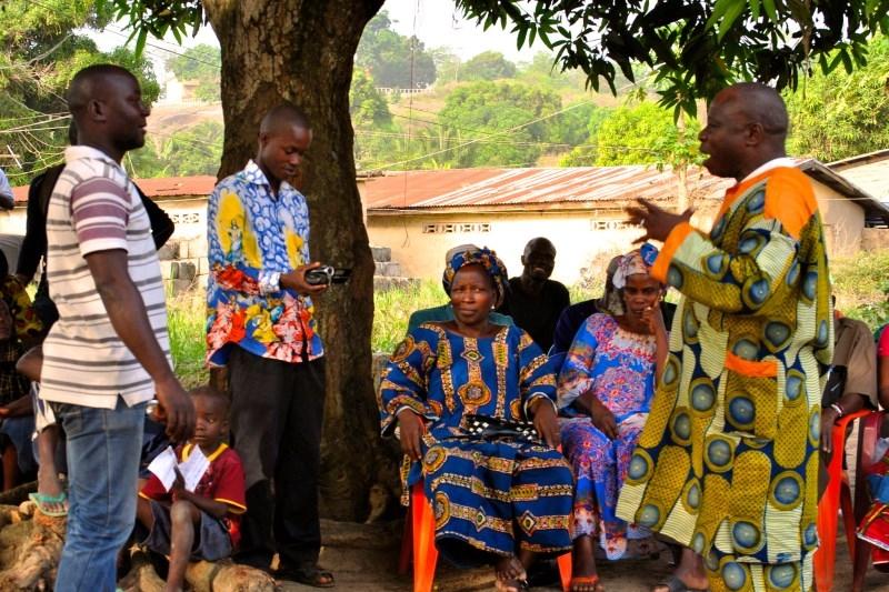 Foto di Michele Pasquale, Casco Bianco Caritas Italiana in Guinea