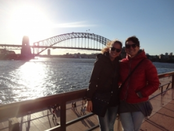 Giulia ed Alice a Sydney, Australia 2015, CB Apg23