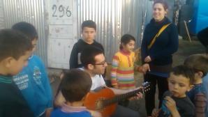 Insegnare inglese con la chitarra