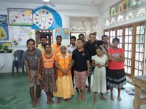 i ragazzi del Centro di Ratnapura