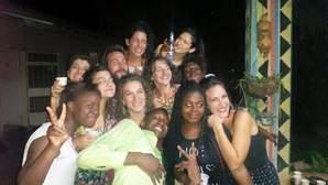 Caschi Bianchi in Zambia