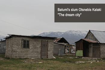 Batumi' slum