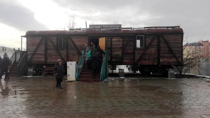 Il vagone-museo che ricorda la deportazione