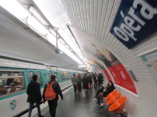 Metropolitana a Parigi, foto di Eleonora Sbarbati