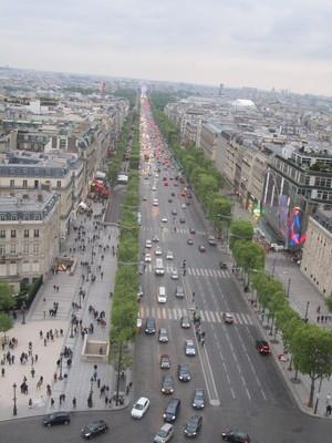 Rue De Champs Elysee, foto di Eleonora Sbarbati