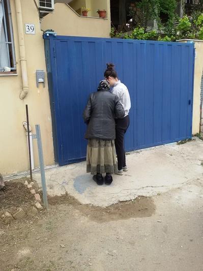 Maddalena, in servizio civile con Matteo alla capanna di Tirana, Albania