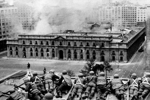 Assedio al palazzo La Moneda