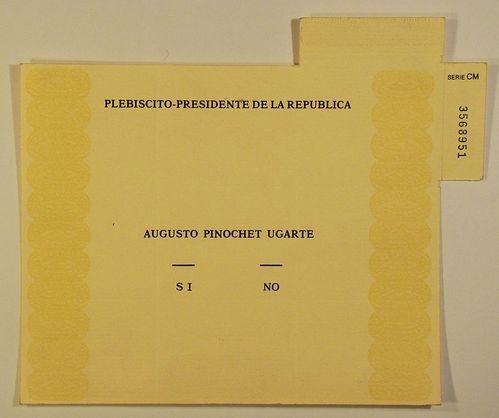 La scheda del referendum