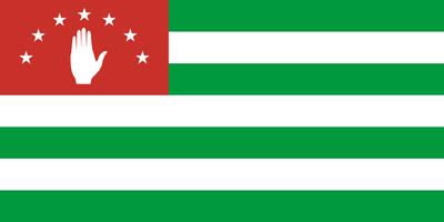 Bandiera Abcasa