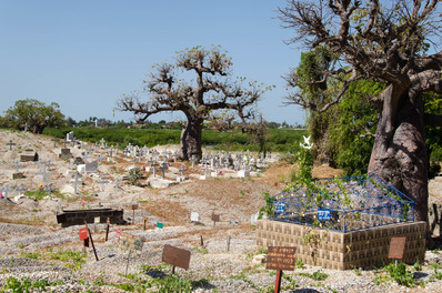 Cimitero cattolico Fadiouth Petite Cote, Senegal