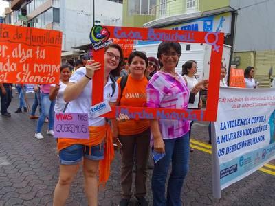 Momenti dalla Marcha Naranja, Ecuador