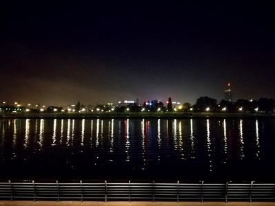 Scorcio notturno di Belgrado