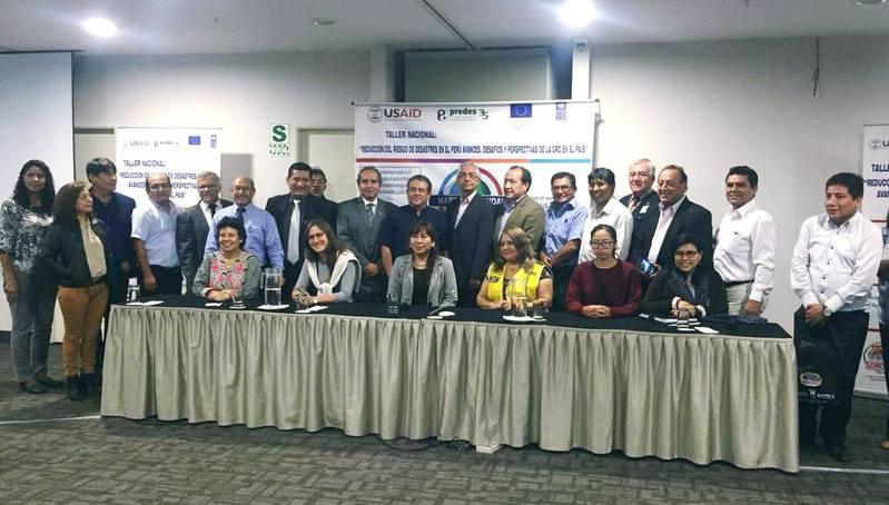 taller nacional reduccion de riesgos y de desastres