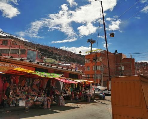 Tra i profumi e i colori di La Paz