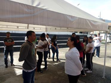 Colombia_Medellin_Attività di educazione con gli studenti del SENA