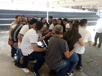 Colombia_Medellin_Attività di team building con gli studenti del SENA