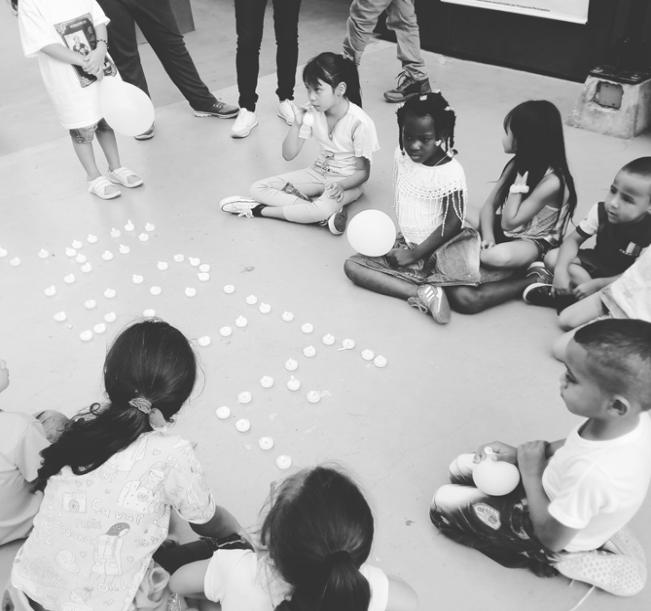 Colombia_Medellin_Attività per la pace con i bambini