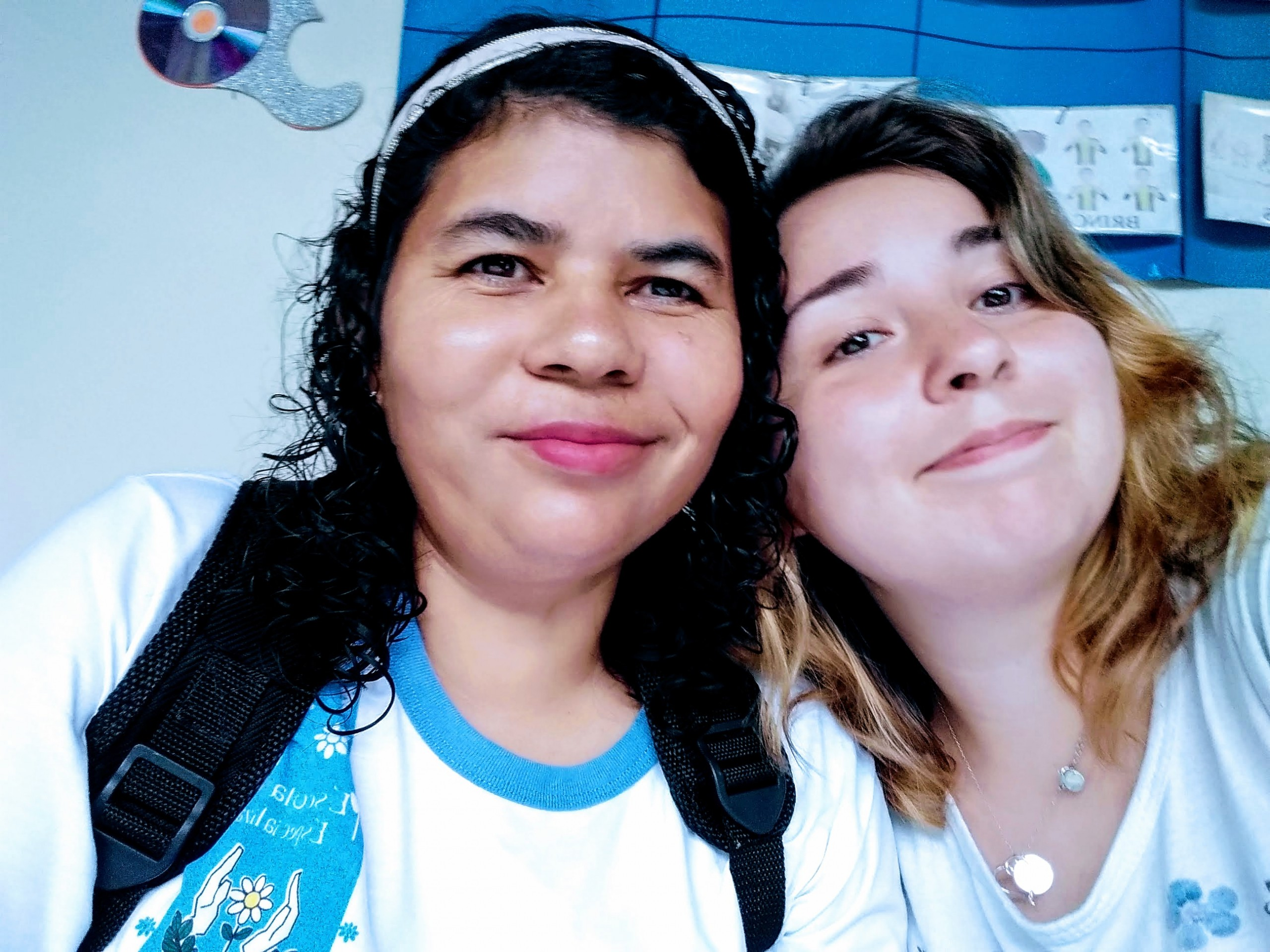 Cida e Margherita_Brasile
