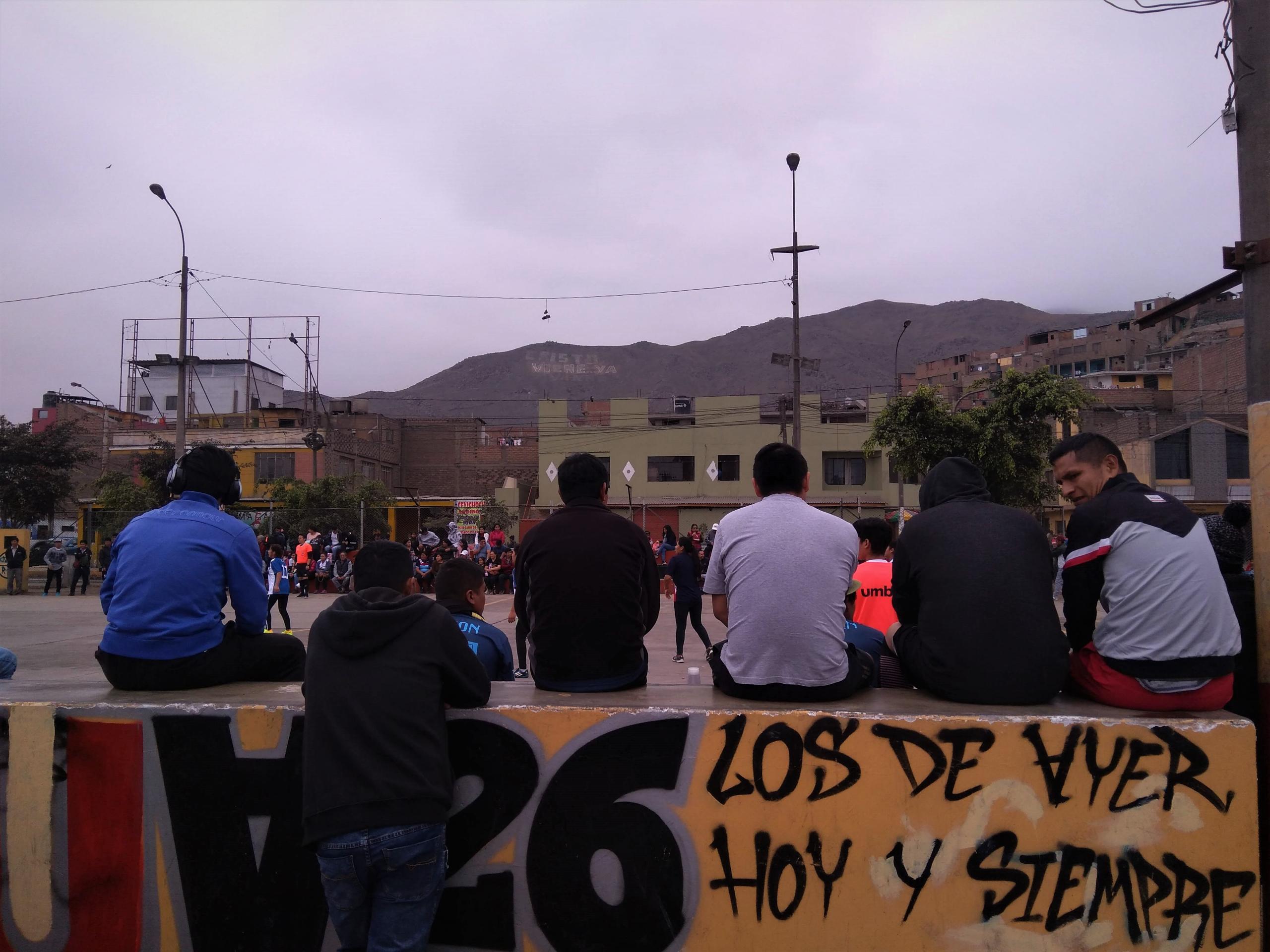 Perù_Lima_persone