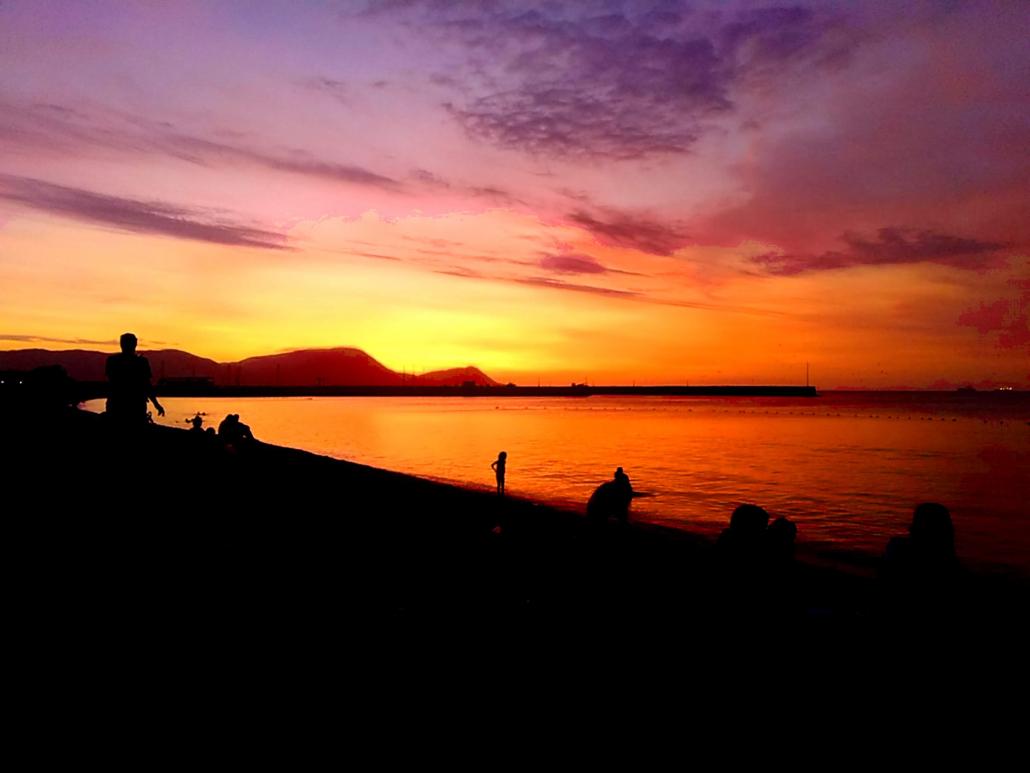 Perù_Lima_tramonto