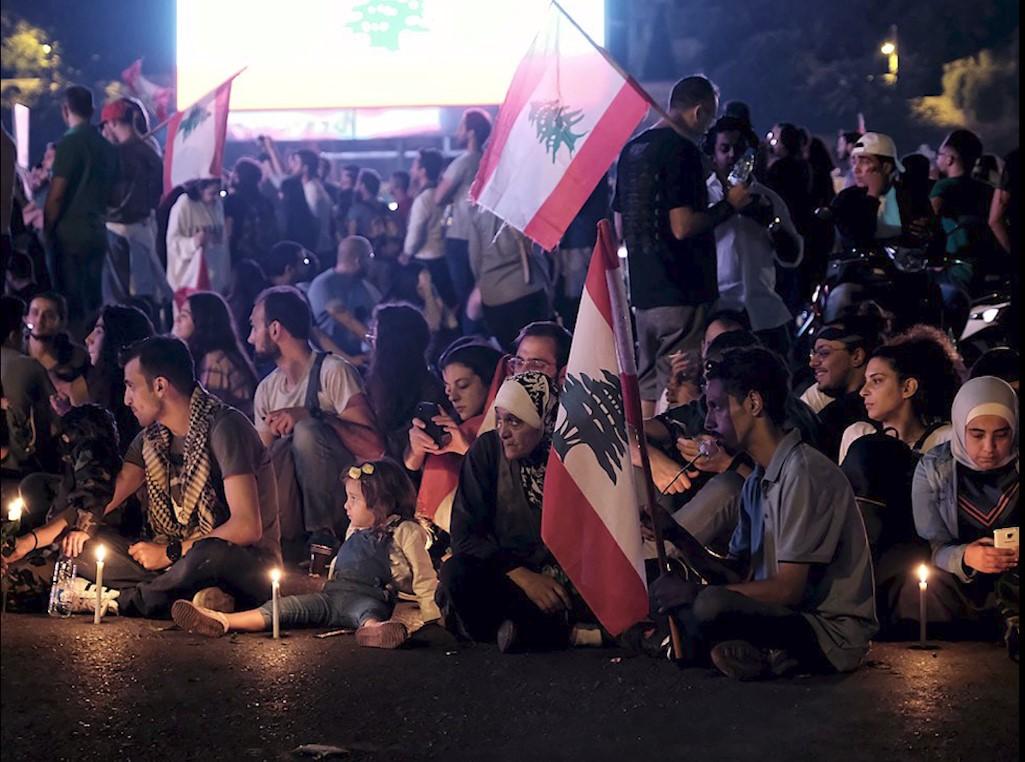 Libano_Beirut_manifestazione